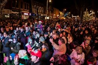 Formby Christmas Lights Switch On