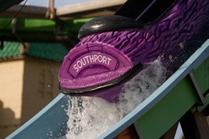 Fair log flume