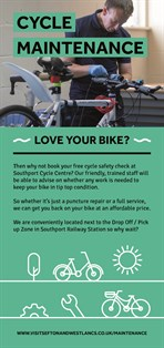 Cycle Hire Flyer Maintenance Front Page