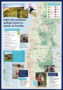 NT Formby Leaflet 2018 Map