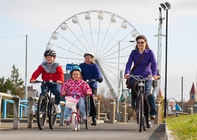 Link to Cycle Hire for all the family content