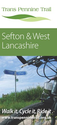 New Sefton and West Lancashire Trans Pennine Trail Leaflet