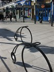 Penny Farthing Cycle Stand